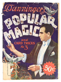 Dunninger's Popular Magic and Card Tricks No.3