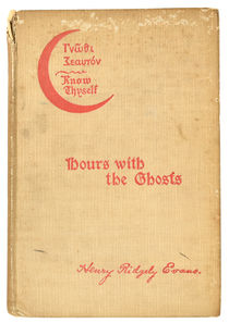 Hours with the Ghosts or the Nineteenth Century Witchcraft