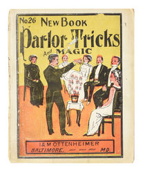 New Book of Parlor Tricks and Magic