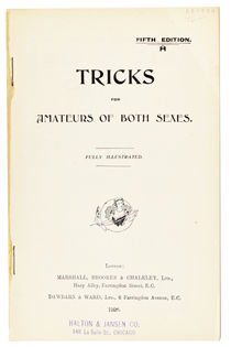 Tricks for Amateurs of Both Sexes