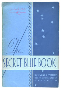 The Secret Blue Book