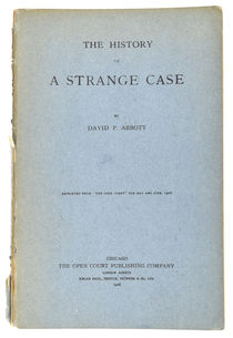 The History of a Strange Case