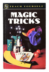 Teach Yourself Magic Tricks, Inscribed and Signed