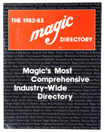 The 1982-83 Magic Directory