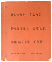 Frank Lane's Book of Patter Number 1-3