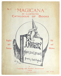 """Magicana"", An Illustrated Catalogue of Books No. 3, 1924"