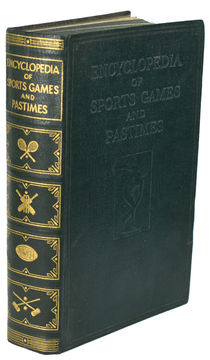 Encyclopedia of Sports Games and Pastimes