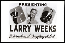 Larry Weeks Postcard