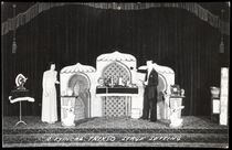 Trixso Stage Setting Postcard