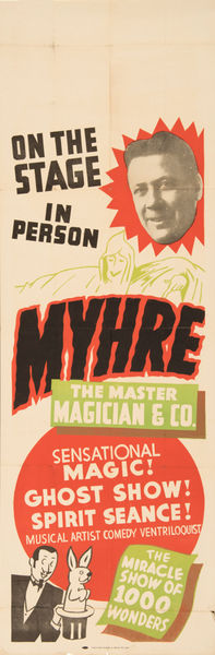 Myhre Master Magician Poster