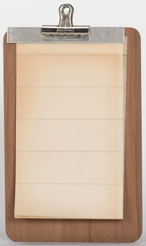 Nelson's Ultra Perfect Clip Board