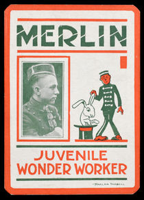 Korman/Merlin the Juvenile Wonder Worker Card