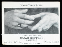 Rajah Keppler Business Card