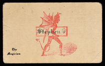Stephen S. The Magician Business Card