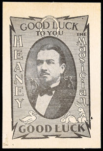 Heaney Good Luck Card