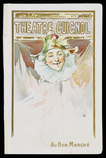 Theatre Guignol Folded Pop-Up Card