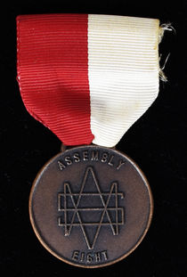 Society of American Magicians Assembly Eight Badge