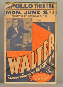 Walter the Magician Window Card