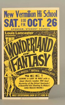 Wonderland of Fantasy Window Card