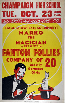 Fantom Follies Window Card