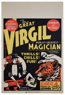 Virgil (Virgil Harris Mulkey) Window Card
