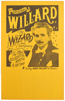 Willard the Wizard Window Card