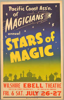 Stars of Magic Window Card